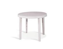 Műanyag kör asztal